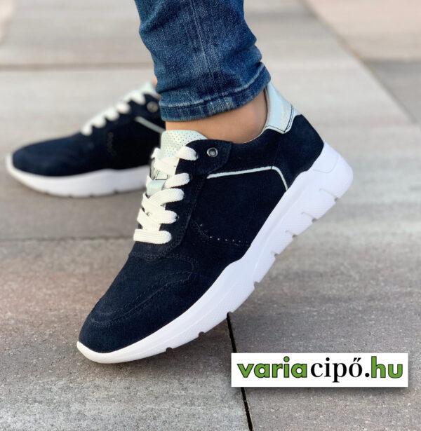 Jana sötétkék női sportos utcai cipő-8-23729-24 890 navy comb