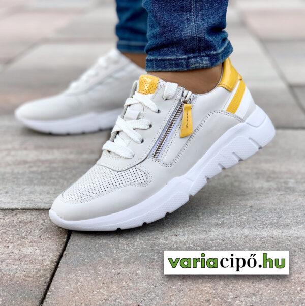 Jana fehér női sportos utcai cipő - 8-23728-24 197 white