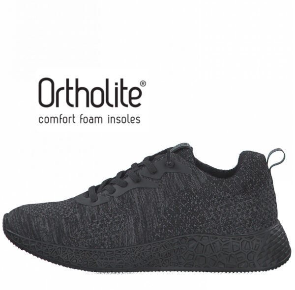 S.Oliver fekete férfi sportcipő, 5-13623-26 001