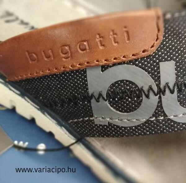 Bugatti férfi papucs feliratos keresztpánttal 321-70785-6900-1000