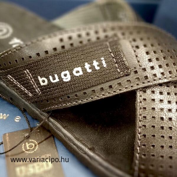 Bugatti fekete férfi papucs keresztpánttal 321-70786-1000-1000