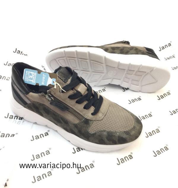 Jana női utcai sportcipő jaguár mintával 8-23728-25-370