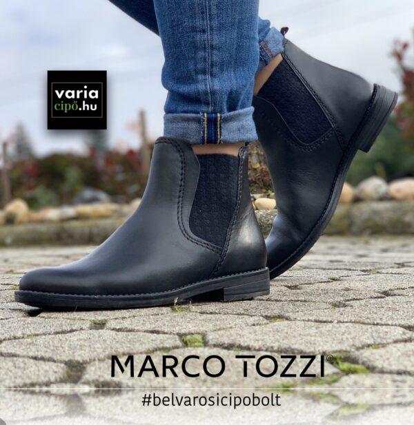 Marco Tozzi chelsea típusú bokacsizma, 2-25366-35, kék